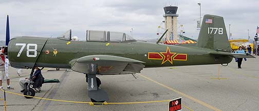 Nanchang CJ-6A N4183E, May 14, 2011